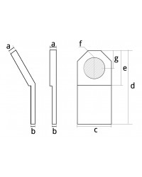 Weld-on lifting plate