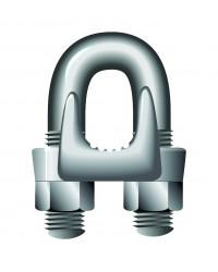 U-shaped high tensile wire rope grip