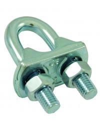 U-shaped standard wire rope grip