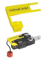 Manual override for 4001S inflator