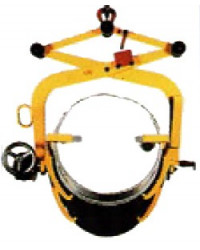 Clamp for lifting and turning of drum