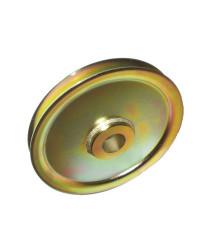 Bronze-bushed steel scheave