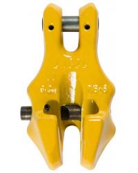 Grade 8 shortening clutch with locking